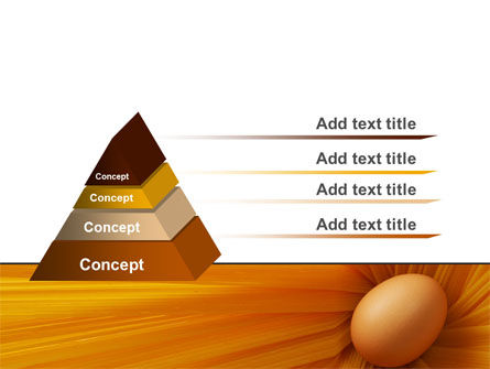 Egg PowerPoint Template, Slide 4, 07332, Business Concepts — PoweredTemplate.com