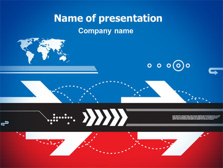 Directions of World Tendencies PowerPoint Template, 07333, Business — PoweredTemplate.com