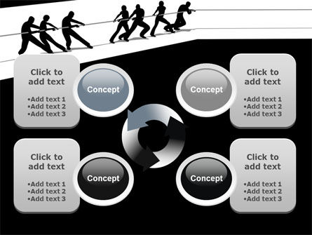 Team Competition PowerPoint Template Slide 9