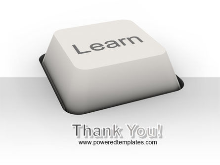 Learn Button PowerPoint Template Slide 20
