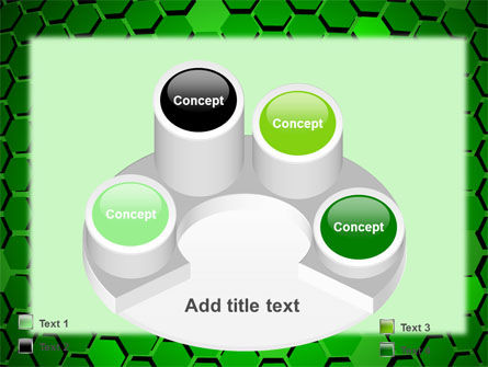 Green Cells PowerPoint Template Slide 12