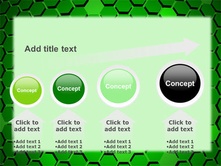 Green Cells PowerPoint Template Slide 13