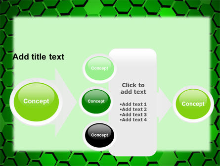 Green Cells PowerPoint Template Slide 17