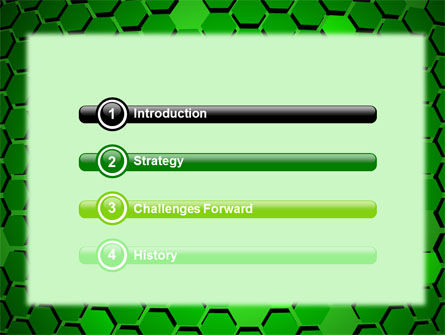 Green Cells PowerPoint Template Slide 3
