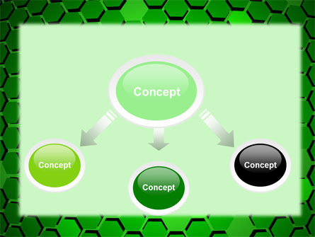 Green Cells PowerPoint Template Slide 4