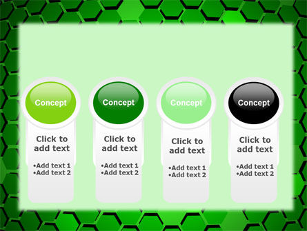 Green Cells PowerPoint Template Slide 5