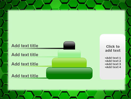Green Cells PowerPoint Template Slide 8