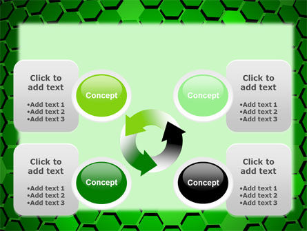 Green Cells PowerPoint Template Slide 9