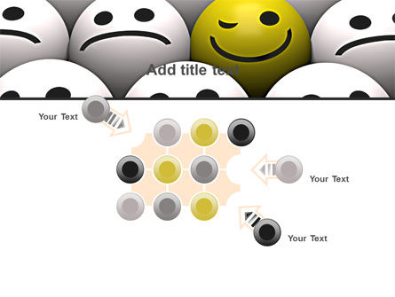 Winking Smile PowerPoint Template Slide 10