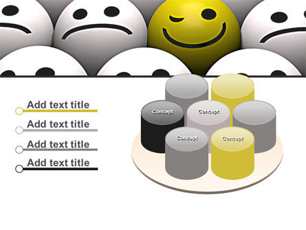 Winking Smile PowerPoint Template Slide 12