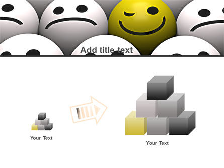 Winking Smile PowerPoint Template Slide 13