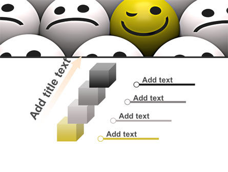 Winking Smile PowerPoint Template Slide 14