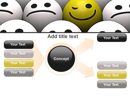 Winking Smile PowerPoint Template Slide 15