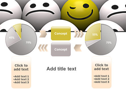 Winking Smile PowerPoint Template Slide 16