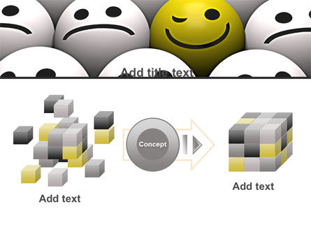 Winking Smile PowerPoint Template Slide 17