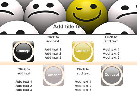 Winking Smile PowerPoint Template Slide 18