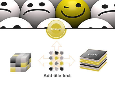Winking Smile PowerPoint Template Slide 19