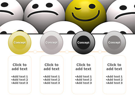 Winking Smile PowerPoint Template Slide 5