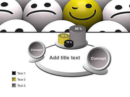 Winking Smile PowerPoint Template Slide 6