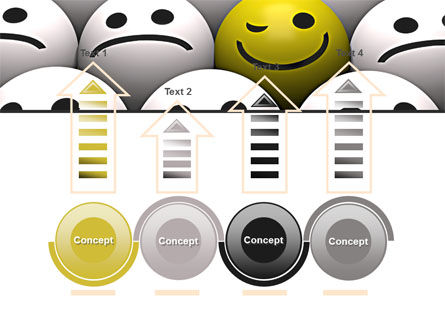 Winking Smile PowerPoint Template Slide 7