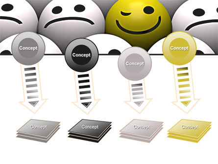 Winking Smile PowerPoint Template Slide 8
