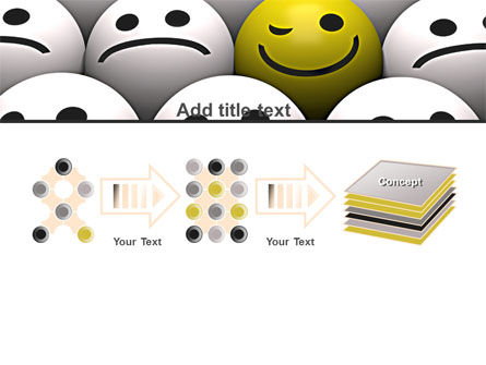 Winking Smile PowerPoint Template Slide 9
