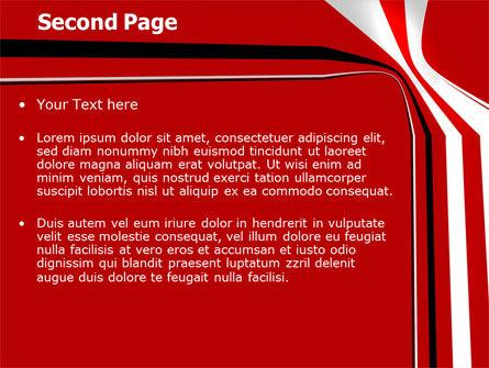 Crookedness PowerPoint Template, Slide 2, 07339, Abstract/Textures — PoweredTemplate.com