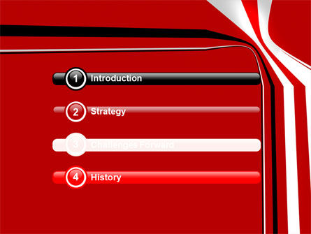 Crookedness PowerPoint Template, Slide 3, 07339, Abstract/Textures — PoweredTemplate.com