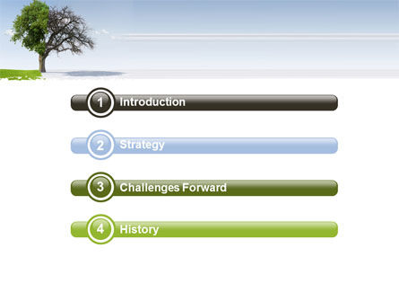 Spring And Winter PowerPoint Template, Slide 3, 07340, Nature & Environment — PoweredTemplate.com