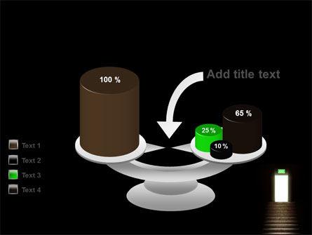 Exit Door PowerPoint Template Slide 10