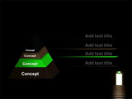 Exit Door PowerPoint Template Slide 12