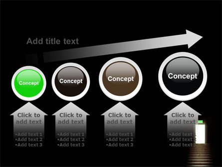 Exit Door PowerPoint Template Slide 13