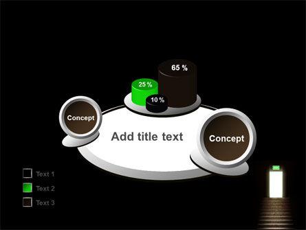 Exit Door PowerPoint Template Slide 16