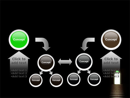 Exit Door PowerPoint Template Slide 19