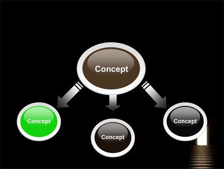 Exit Door PowerPoint Template Slide 4