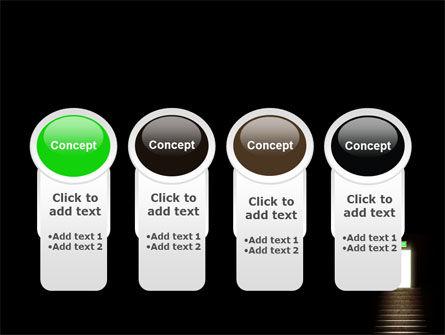 Exit Door PowerPoint Template Slide 5