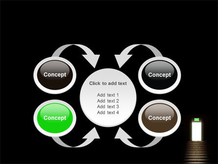 Exit Door PowerPoint Template Slide 6