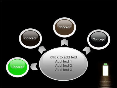 Exit Door PowerPoint Template Slide 7