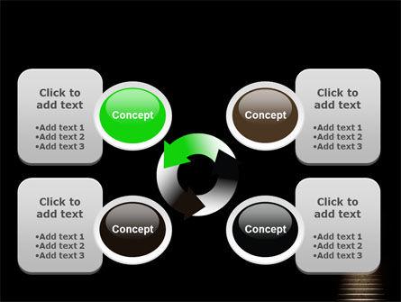 Exit Door PowerPoint Template Slide 9