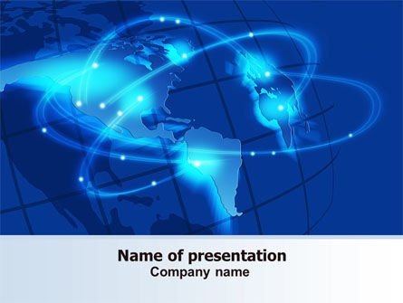 Satellite Connection PowerPoint Template