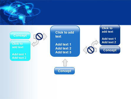 Satellite Connection PowerPoint Template Slide 13