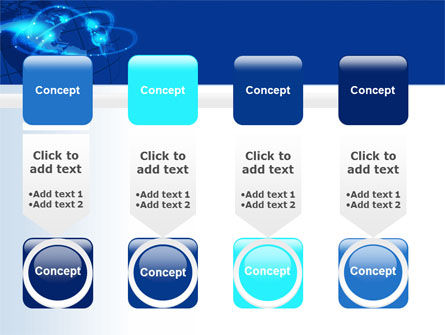 Satellite Connection PowerPoint Template Slide 18