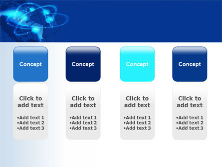 Satellite Connection PowerPoint Template Slide 5