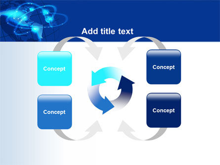 Satellite Connection PowerPoint Template Slide 6