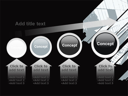 Abstract Skyscraper Theme PowerPoint Template Slide 13