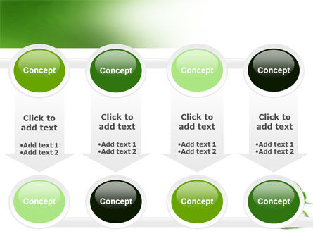 Green Thread Clew PowerPoint Template Slide 18