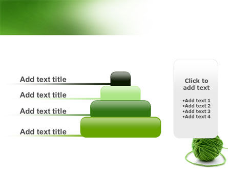 Green Thread Clew PowerPoint Template Slide 8