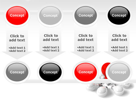 Red Bulb PowerPoint Template Slide 18