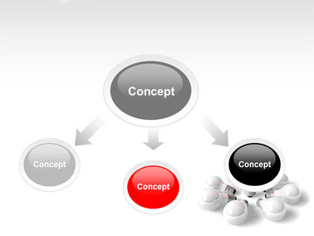 Red Bulb PowerPoint Template, Slide 4, 07347, Consulting — PoweredTemplate.com
