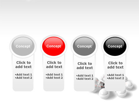 Red Bulb PowerPoint Template Slide 5